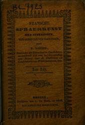 Fransche spraekkunst met oefeningen ten gebruyke der Vlamingen: Volume 1