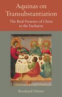 Aquinas on Transubstantiation PDF