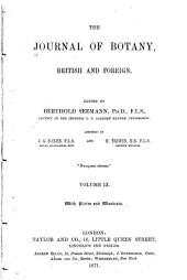 The Journal of Botany, British and Foreign ...: Volume 9