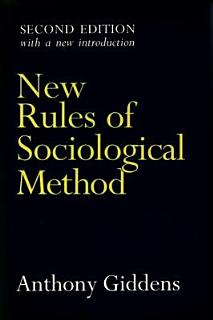 New Rules of Sociological Method Book