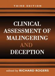 Clinical Assessment of Malingering and Deception  Third Edition PDF