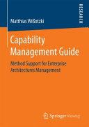 Capability Management Guide PDF