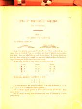 Laws of Mechanical Notation. For consideration. [With a table.]
