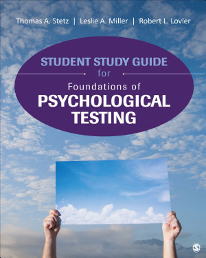 Student Study Guide for Foundations of Psychological Testing PDF