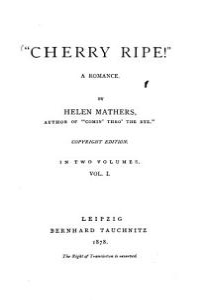 Cherry Ripe   PDF