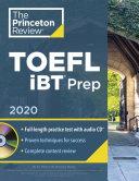 Princeton Review TOEFL IBT Prep with Audio CD 2020 PDF