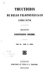 Thucydidis De bello Peloponnesiaco libri octo: Volume 2