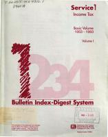 Bulletin Index digest System PDF