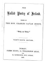 The Ballad Poetry of Ireland. Edited by C. G. D. Third edition