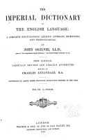 The Imperial Dictionary of the English Language PDF