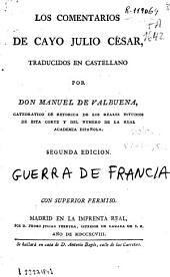Los comentarios de Cayo Julio César: Volume 1