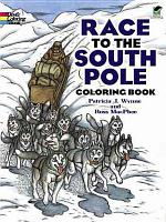 Race to the South Pole Coloring Book