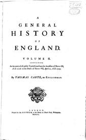 A general history of England: Volume 2