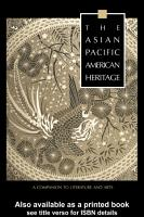 The Asian Pacific American Heritage PDF