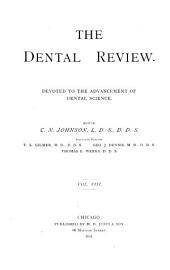 Dental Review: Volume 8