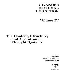 The Content  Structure  and Operation of Thought Systems PDF