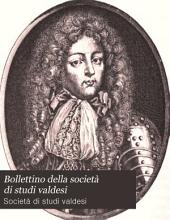 Bollettino della società di studi valdesi: Edizioni 1-10
