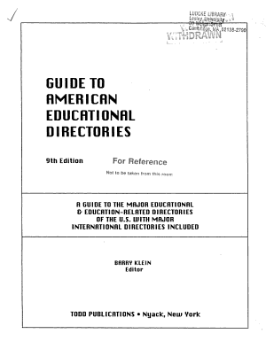 Guide to American Directories PDF