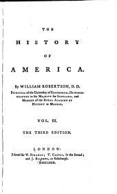 The History of America: Volume 3