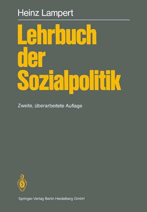 Lehrbuch der Sozialpolitik PDF