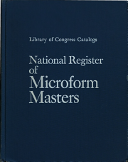 National Register of Microform Masters PDF