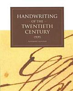 Handwriting of the Twentieth Century Book
