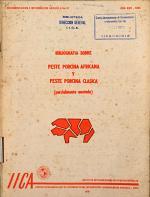 Bibliografía sobre peste porcina africana y peste porcina clásica (parcialmente anotada)