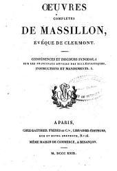 Oeuvres complètes de Massillon, évêque de Clermont: Volume10