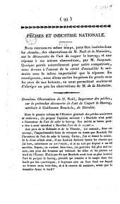 Dernières observations de M. Noël ... sur la prétendue découverte de l'art de caquer le hareng, attribuée à Guillaume Beuckels, de Biervliet
