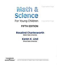 Math   Science for Young Children