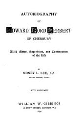 Autobiography of Edward, Lord Herbert of Cherbury
