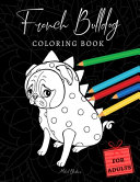 French Bulldog Coloring Books for Adults