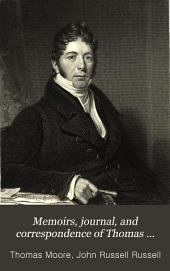 Memoirs, Journal, and Correspondence of Thomas Moore: Sept. 1819-Aug. 1822