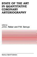 State of the Art in Quantitative Coronary Arteriography PDF