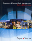Operations and Supply Chain Management for the 21st Century  Book Only