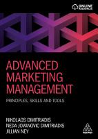 Advanced Marketing Management PDF