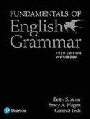 Fundamentals of English Grammar Workbook with Answer Key  5e PDF