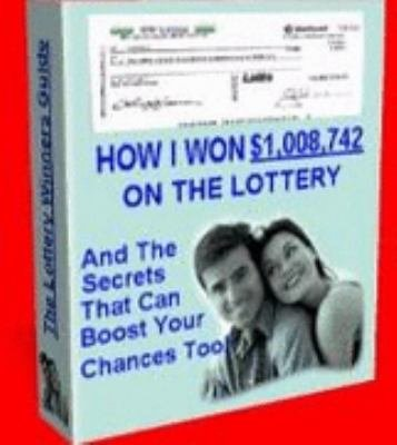 Winning the Lottery   How I Won  1 008 742 on the Lottery