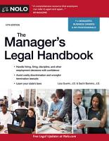 Manager s Legal Handbook The PDF