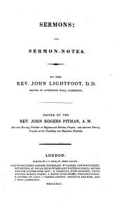 The Whole Works of the Late Rev. John Lightfoot ...