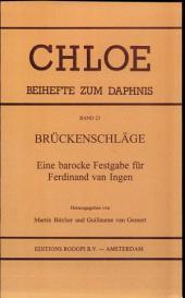 Brückenschläge: eine barocke Festgabe für Ferdinand van Ingen, Issue 1
