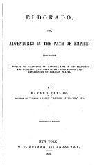 Eldorado, Or, Adventures in the Path of the Empire