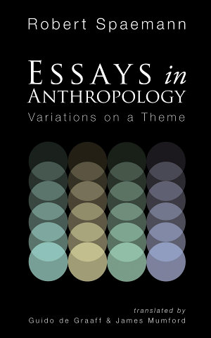 Essays in Anthropology