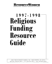 Religious Funding Resource Guide