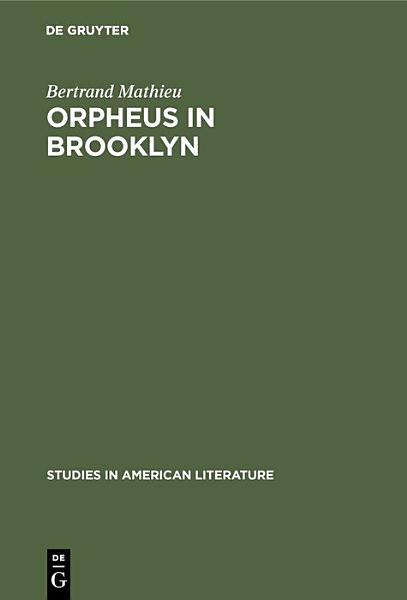 Download Orpheus in Brooklyn Book