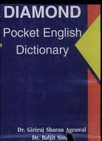Diamond Pocket English Dictionary PDF