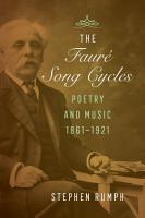 The Faure Song Cycles PDF