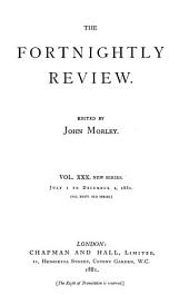 The Fortnightly Review: Volume 36