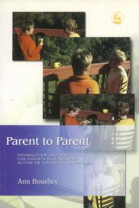 Parent to Parent Book