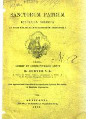 Scriptorum veterum de eucharistia opuscula selecta